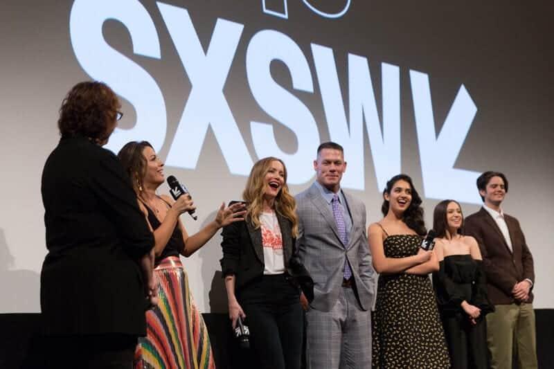 Na imagem, palestrantes do SXSW 2018 reunidos no palco.