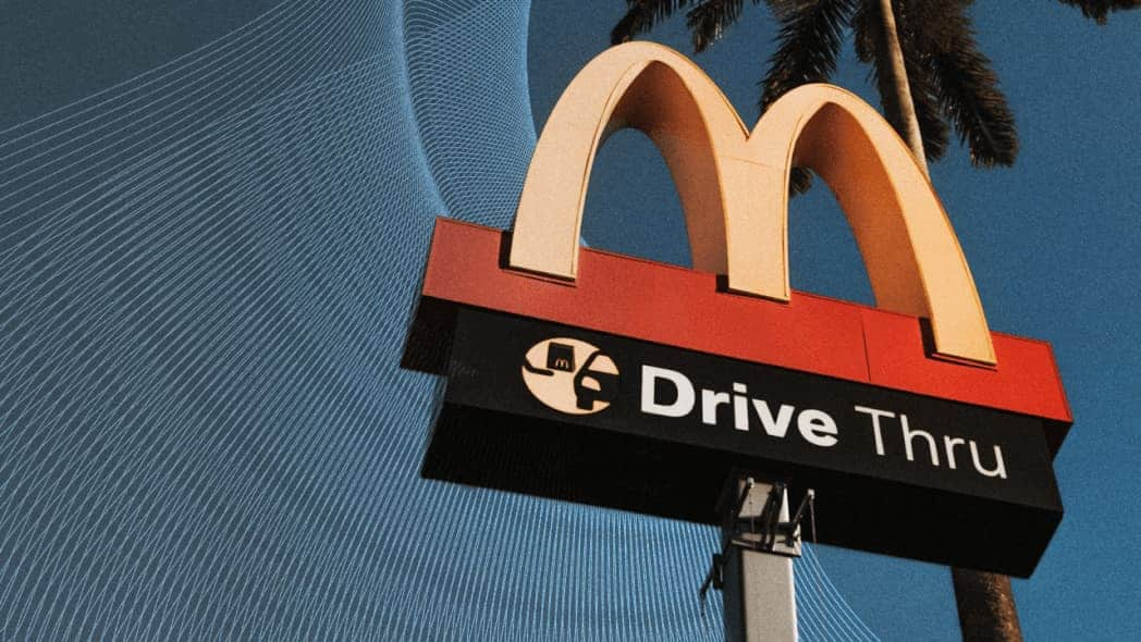 Inteligência Artificial no Drive Thru do McDonald's
