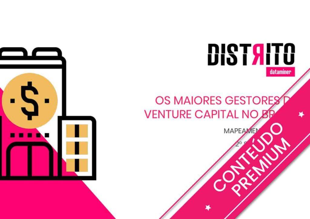 Na imagem, o estudo Os maiores gestores de Venture Capital no Brasil
