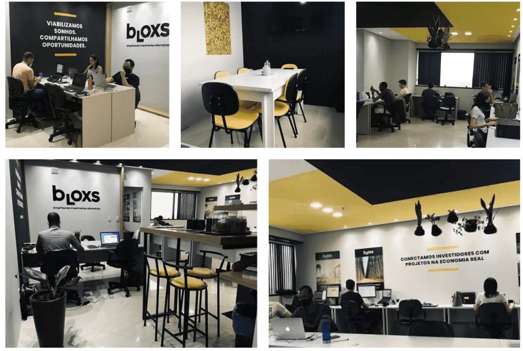 Escritório sede da equipe Bloxs em Salvador na Bahia.