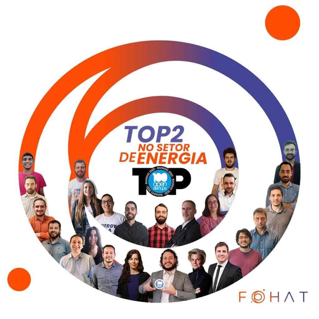 Fohat fica com a segunda posição entre as startups do setor de energia do 100 Open Startups