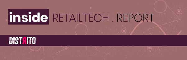 banner informativo do Inside Retailtech Report que leva para a pagina de assinatura mensalmente.