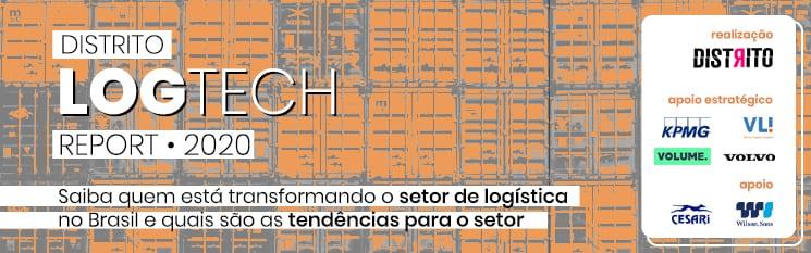 banner de divulgação LogTech Report