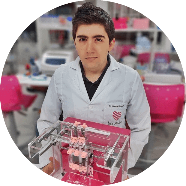 Gabriel Liguori, fundador da TissueLabs