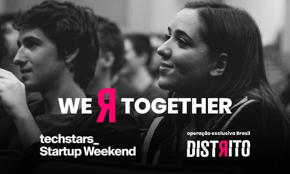 Distrito firma parceria com a rede global Techstars, responsável pelo Startup Weekend do Brasil
