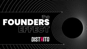 Identidade visual do videocast The Founders Effect