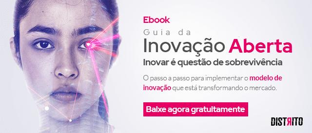 Ebook Guia da Inovação Aberta - Inovar é questão de sobrevivência. O passo a passo para implementar o modelo de inovação que está transformando o mercado. Baixe agora gratuitamente!