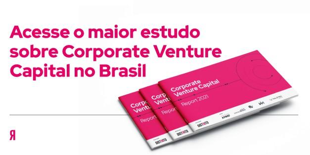Banner sobre o relatório Corporate Venture Capital 2021